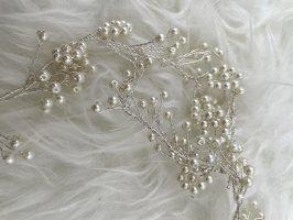 Butik Spilla per capelli bianco-crema