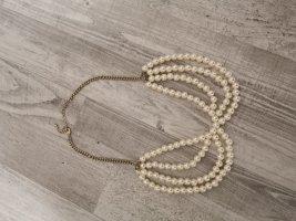 Perlen Kragen Halskette Neu