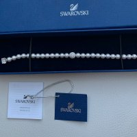 Swarovski Pearl Bracelet white-silver-colored