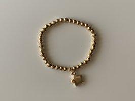 Bransoletki z perłami złoto
