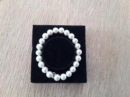 Jette Joop Pearl Bracelet white-light grey