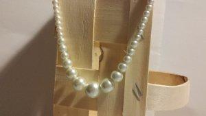 Accesorize Collier de perles blanc-gris clair