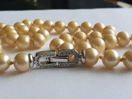 Pierre Lang Collier de perles blanc