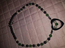 Perlenkette mit Herz