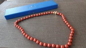 Perlenkette, schönes rot vom Pierre Lang