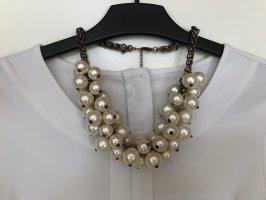 Zara Accesoires Pearl Necklace multicolored