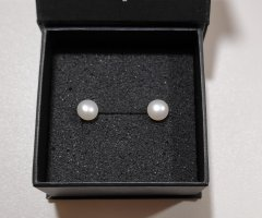 unknown Pearl Earring white