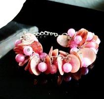 Perlmutt Perlen Armband,  Handgefertigt,  Einzelstück