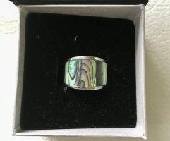 Perlmutt Ring von Luna