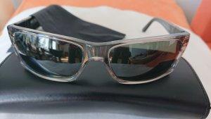 Persol Angular Shaped Sunglasses black-light grey