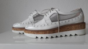 Pertini Lace Shoes white leather