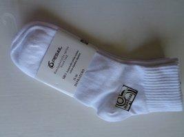 Pesail - 1 Paar Strümpfe Söckchen Socken Gr. 35-38 - 100 %  Baumwolle  schneeweiß -NEU