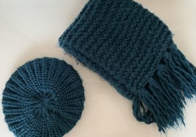 Pimkie Knitted Scarf cadet blue-petrol