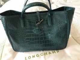 Petrolfarbene Tasche von Longchamp