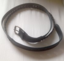 Marc O'Polo Leather Belt blue leather