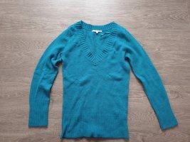 Petrolfarbener Pullover von Tally Weijl