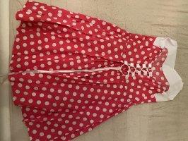 Robe avec jupon rose