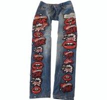 Philipp Plein Jeans skinny multicolore Cotone