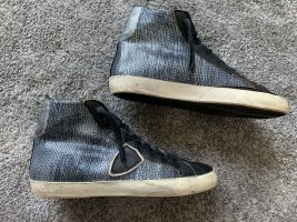 Philippe Model High top sneaker donkerblauw