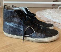 Philippe Model High Top Sneaker dark blue