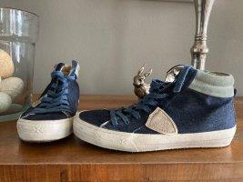 Philippe Model Sneakers Gr. 38 in Jeansblau