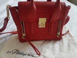 Phillip Lim mini Pashli Tasche rot