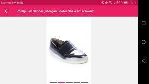 "Phillip Lim Slipper "" Morgan Loafer Sneaker"" schwarz"