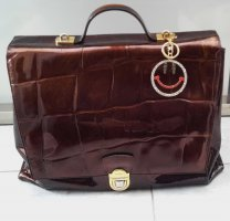Picard Briefcase bronze-colored-brown