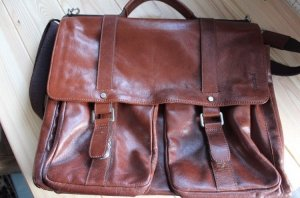Picard Briefcase brown red