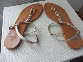 PIECES CARMEN LEATHER SANDAL