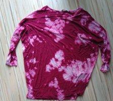 PIECES  Langarmshirt self Made weinrot