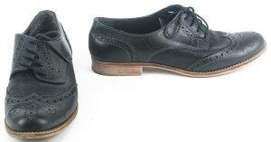 Pier one Budapest schoenen zwart Leer