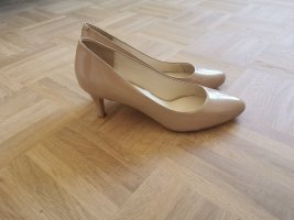 Pier one Pumps nude Lackleder 39 NEUw.