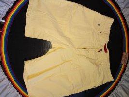 Pierre Cardin Jeans Sommerhose, Shorts, Bermuda, sonnengelb in Größe/Weite 33