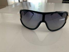 Pierre Cardin Owalne okulary przeciwsłoneczne czarny