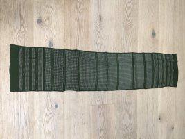 Pierre Cardin Silk Scarf dark green-forest green silk