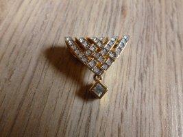 Pierre Lang Kettenanhänger gold Steinchen