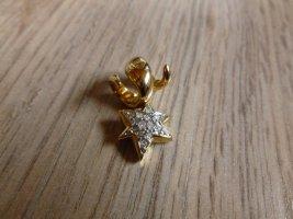 Pierre Lang Kettenanhänger gold Stern Steine
