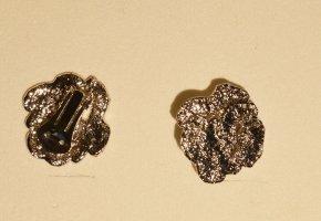 Pierre Lang Pendientes de clip color plata