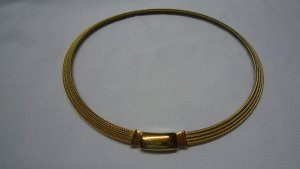 Pierre Lang Collier Necklace gold-colored metal