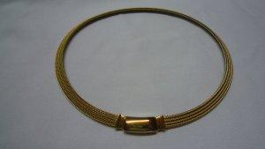 Pierre Lang Colliers ras du cou doré métal
