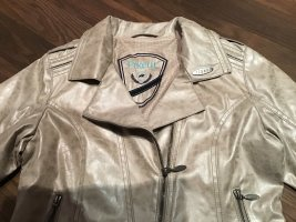 Pikeurjacke in taupe, Gr. 38