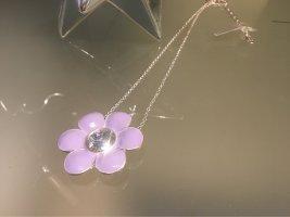Pilgrim Cadena de cuentas color plata-púrpura