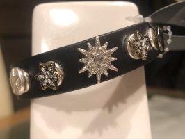 Pilgrim Bracelet en cuir noir cuir