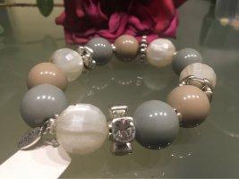 Pilgrim Bracciale di perle multicolore