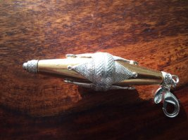 Pilgrim Retroanhänger gold-silber