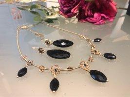 Pilgrim Collier Necklace black-gold-colored