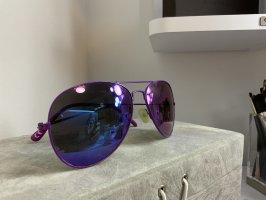 H&M Aviator Glasses lilac