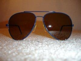 Aviator Glasses blue-light brown