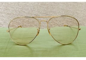 Ray Ban Glasses gold-colored